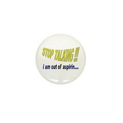 The Mr. V 105 Shop Mini Button (100 pack)