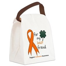 Leukemia awareness pocket Canvas Lunch Bag