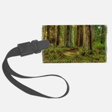 redwoods Luggage Tag