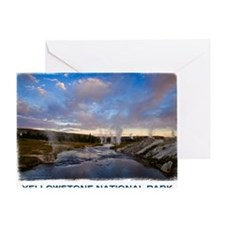 Yellowstone1 Greeting Card