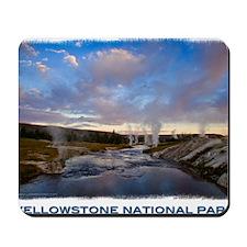 Yellowstone1 Mousepad