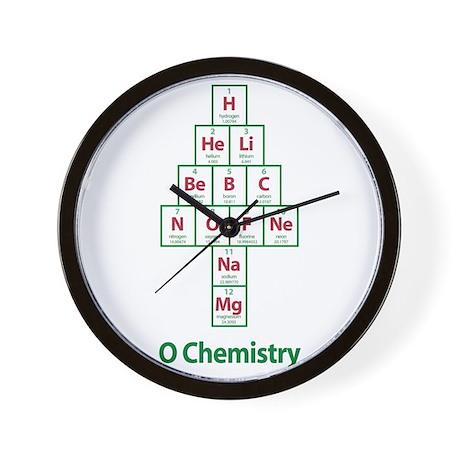 ValueTshirt_Ochemistry_FRONT Wall Clock