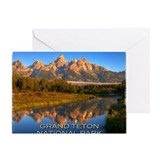 Grand teton Greeting Cards