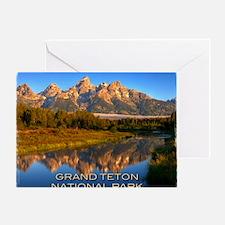 Tetons2 Greeting Card