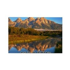 Tetons2 Rectangle Magnet