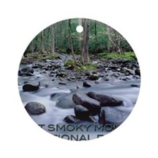 SMOKIES1 Round Ornament