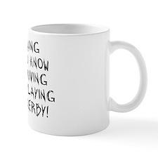 driving-rect-white Mug