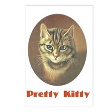 Pretty Kitty Postcards (Package of 8)