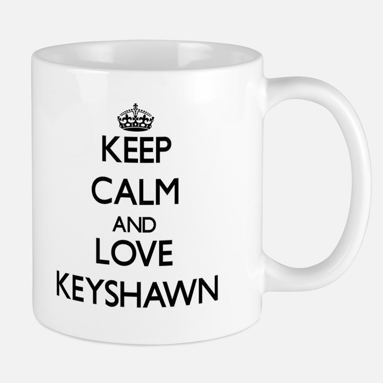 Keep Calm and Love Keyshawn Mugs