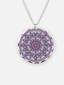 LILAC FLOWER-2 copy Necklace