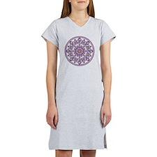 LILAC FLOWER-2 copy Women's Nightshirt