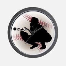 iCatch Baseball Wall Clock