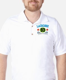 Lacrosse Player Number 93 T-Shirt