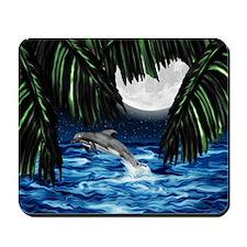 Moonlit Paradise 7.5x5.5_card Mousepad
