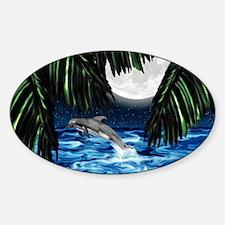 Moonlit Paradise 7.5x5.5_card Decal