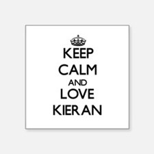 Keep Calm and Love Kieran Sticker