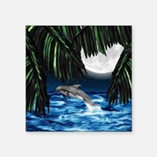 "Moonlit Paradise 6x4_card Square Sticker 3"" x 3"""