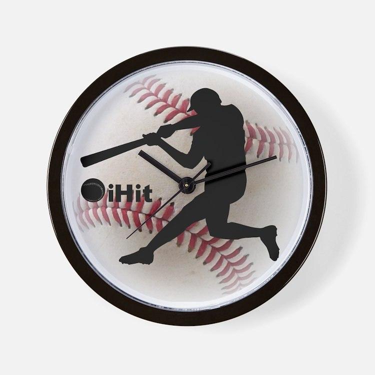 iHit Baseball Wall Clock