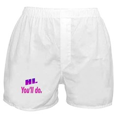 The Mr. V 115 Shop Boxer Shorts