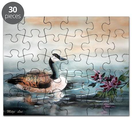Geese_mum14x10_print Puzzle