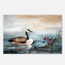 Geese_mum14x10_print Postcards (Package of 8)