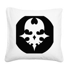 twewy_player_pin Square Canvas Pillow