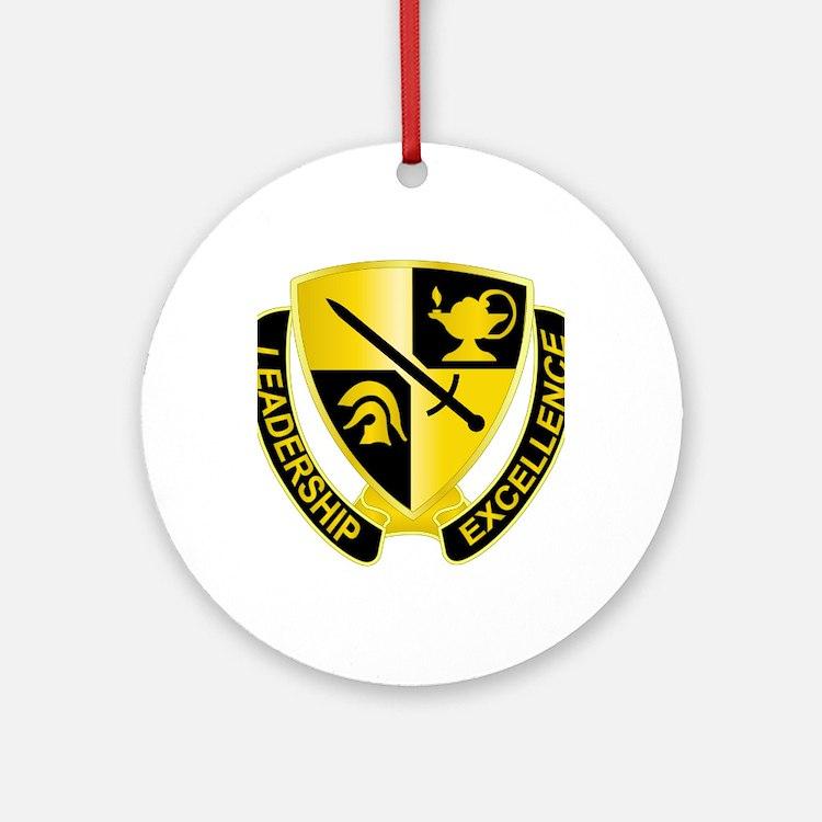 DUI - US - Army - ROTC Round Ornament