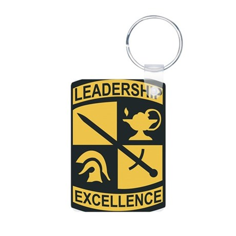 Army - SSI - ROTC Aluminum Photo Keychain