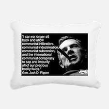 ripper Rectangular Canvas Pillow