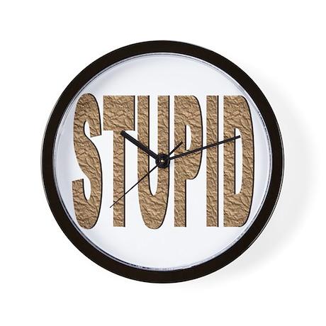 The Mr. V 124 Shop Wall Clock