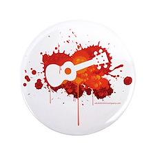 """Ukulele Splash Red 3.5"""" Button"""