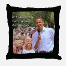 Middle East Throw Pillow
