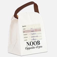 NOOB1 Canvas Lunch Bag