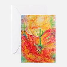 Southwest desert art! Greeting Cards