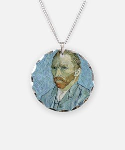 Self portrait, 1889 by Vince Necklace