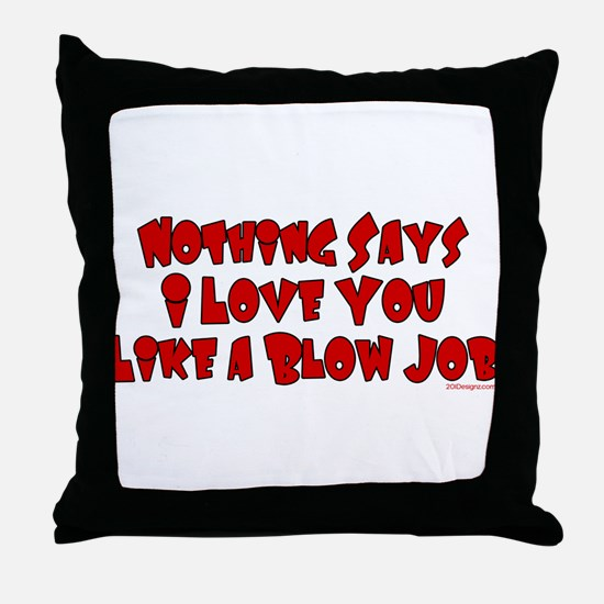 Quick ILU Throw Pillow