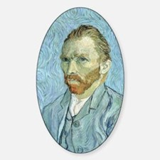 Self portrait, 1889 by Vincent Van  Decal