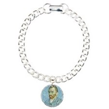Self portrait, 1889 by V Charm Bracelet, One Charm