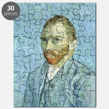 Self portrait, 1889 by Vincent Van Gogh Puzzle