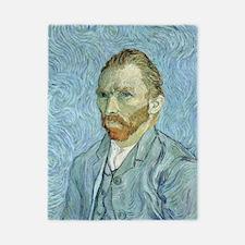 Self portrait, 1889 by Vincent Van Gogh Twin Duvet