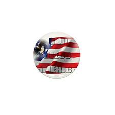 Patriotic God Bless America Soaring Eagle Mini But