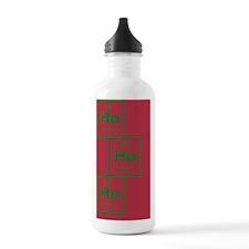 GreetingCard_HoHoHo_Re Water Bottle