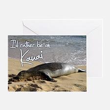 PostcardMonkSeal Greeting Card