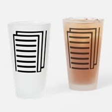 papers Drinking Glass
