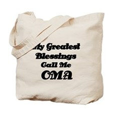 My Greatest Blessings call me OMA Tote Bag