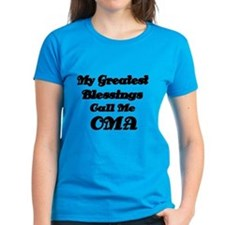 My Greatest Blessings Call Me OMA T-Shirt