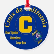 Croix de California Ornament