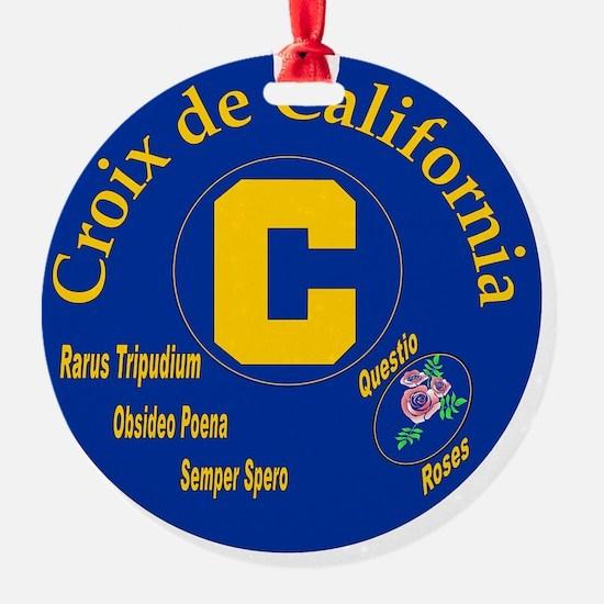 Croix de California Ornament