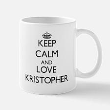Keep Calm and Love Kristopher Mugs