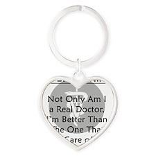 vetrealdoctor Heart Keychain